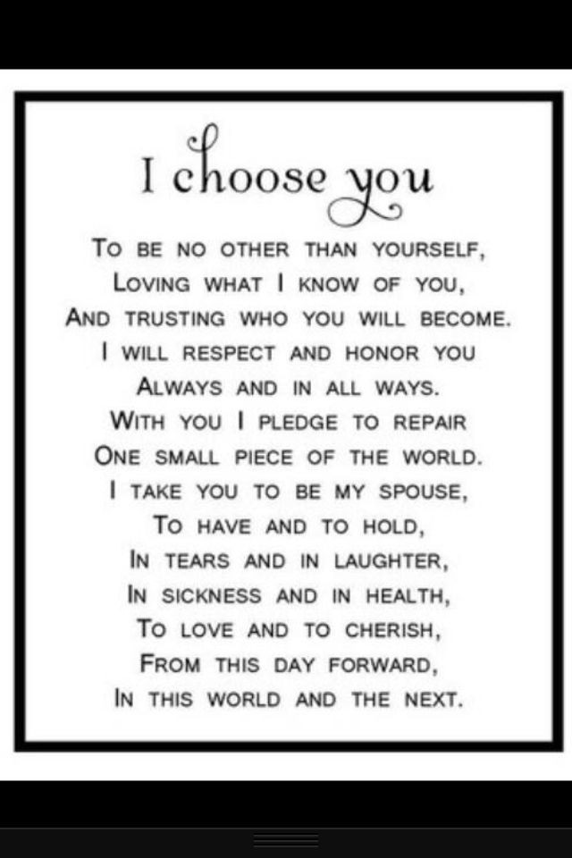 Wedding Vow Quotes  Quotes about Wedding vows 32 quotes