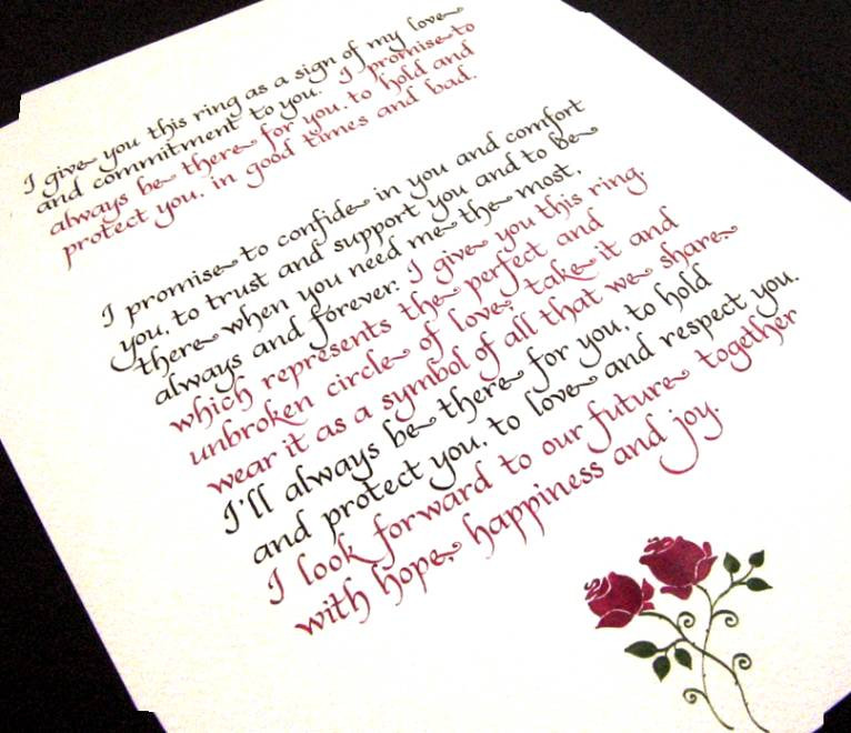 Wedding Vows For Him  Romantic Wedding Vows For Him