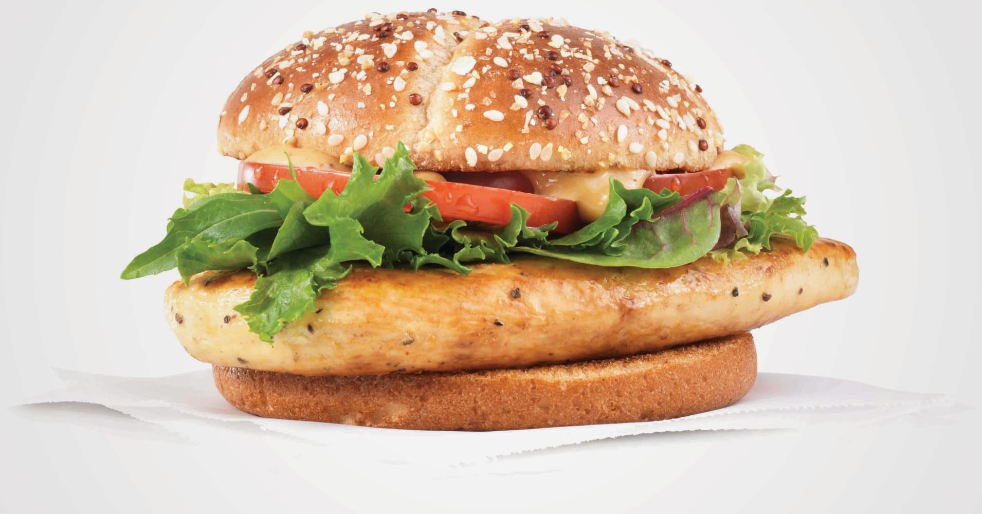 Wendys Chicken Sandwiches  Restaurant chains double down on chicken to boost foot traffic