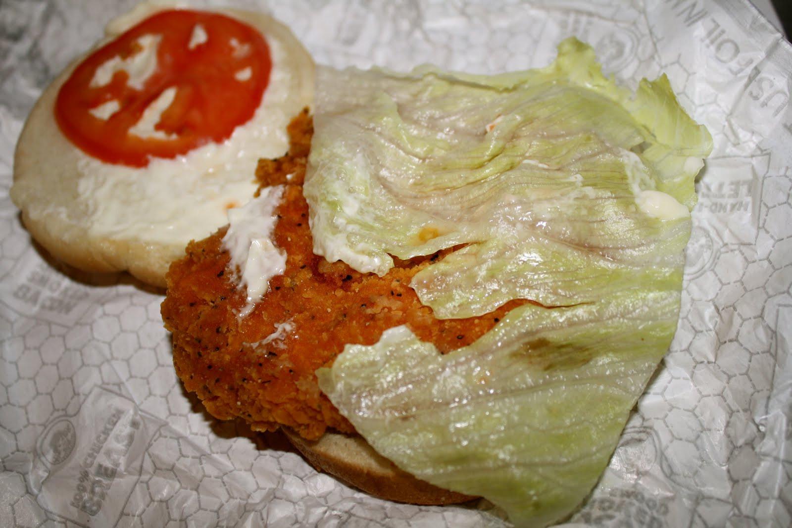 Wendys Chicken Sandwiches  An Immovable Feast Wendy s Spicy Chicken Sandwich