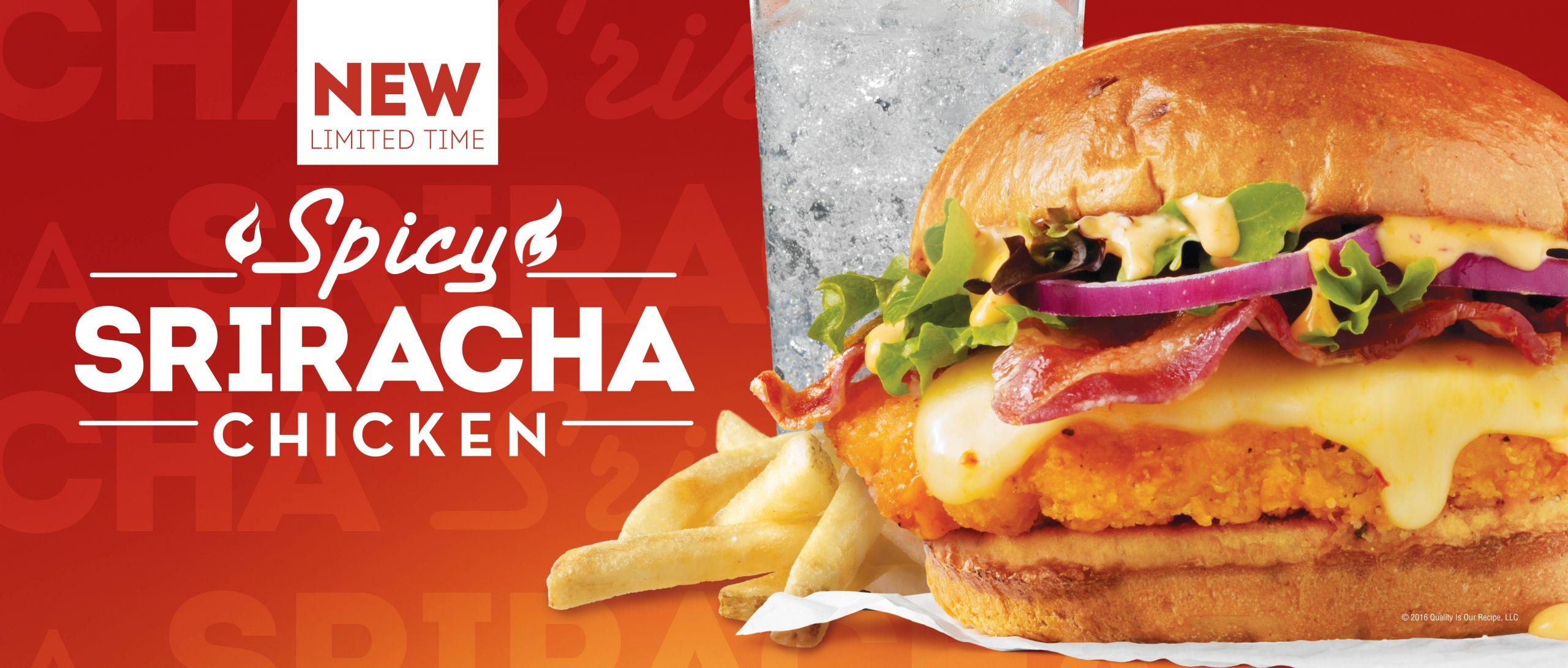 Wendys Chicken Sandwiches  Wendy s Introduces Spicy Sriracha Chicken Sandwich