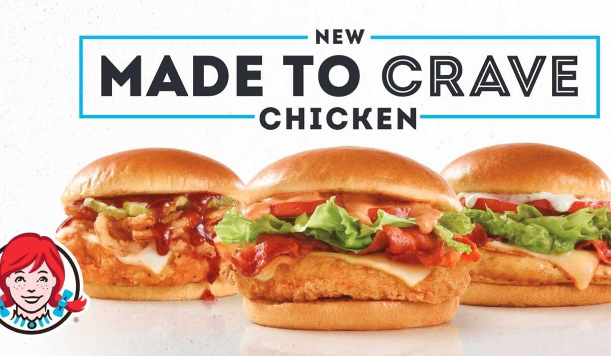 Wendys Chicken Sandwiches  Wendy s Adds 3 New Chicken Sandwiches to Made to Crave