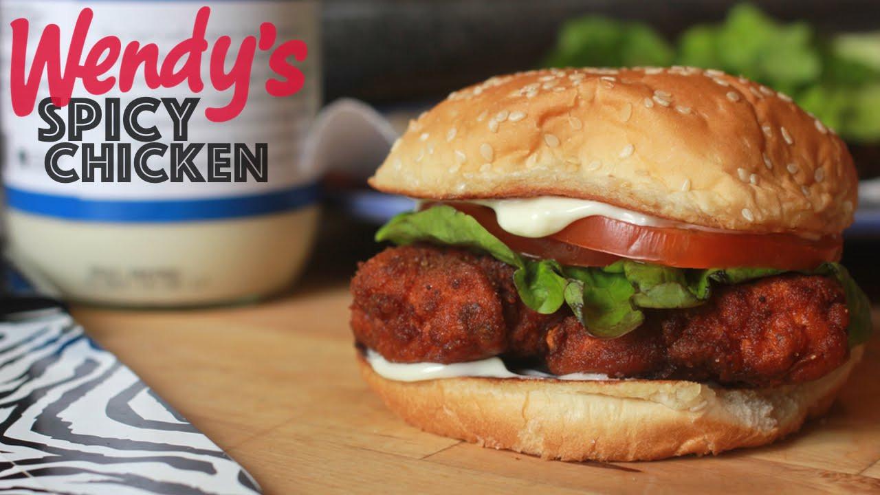 Wendys Chicken Sandwiches  Wendy s Spicy Chicken Sandwich
