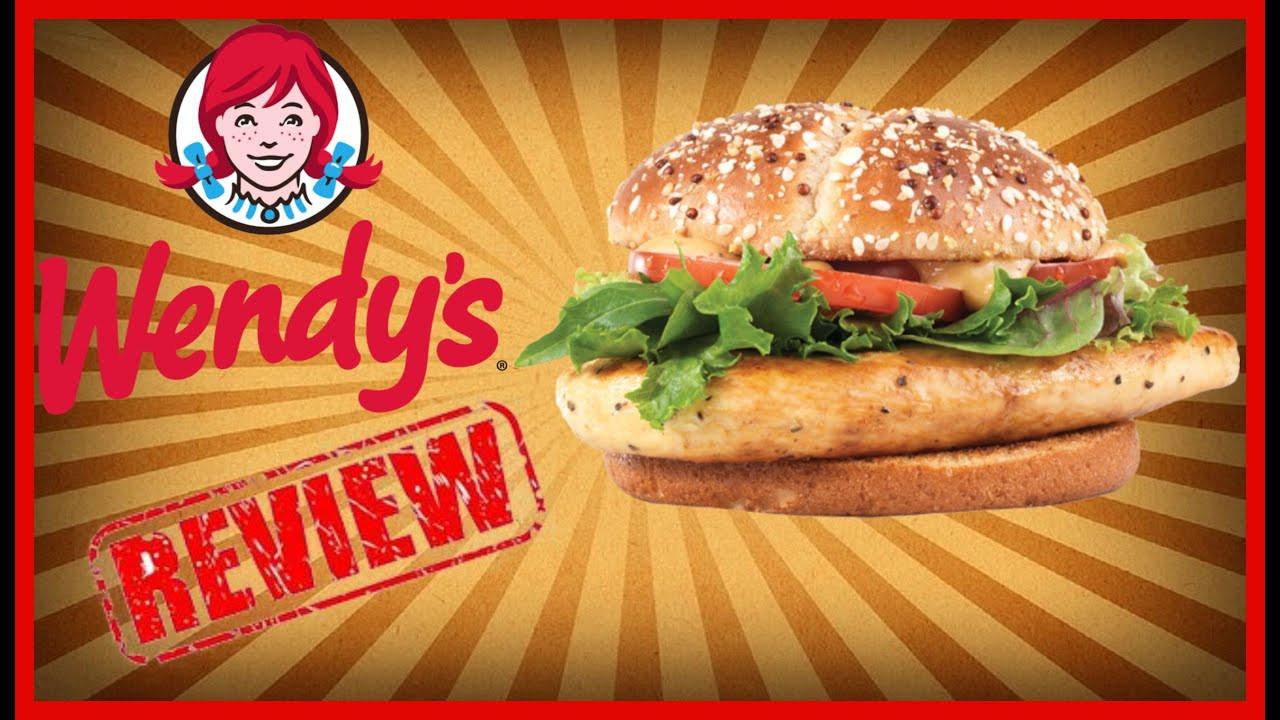 "Wendys Chicken Sandwiches  ♥Wendys ""New"" Grilled Chicken Sandwich Review♥ September"