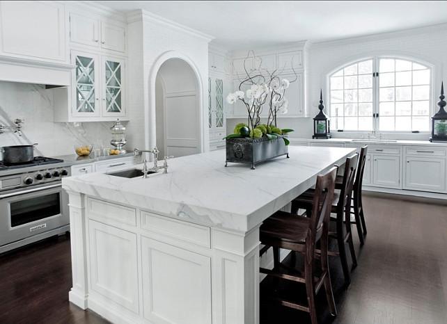 White Marble Top Kitchen Island  60 Inspiring Kitchen Design Ideas Home Bunch Interior
