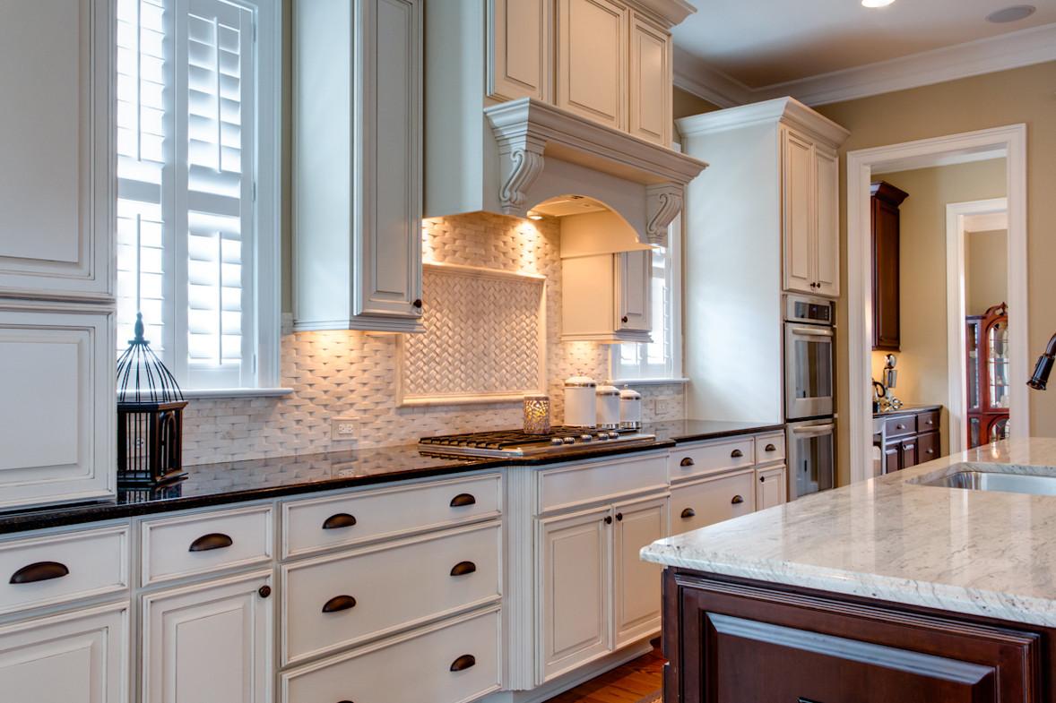 White Tile Kitchen Backsplash  15 Inspiring White Kitchens Celebrate & Decorate