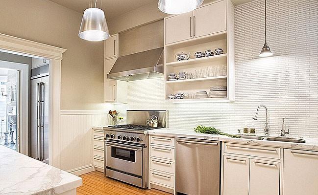 White Tile Kitchen Backsplash  White Backsplash Tile s & Ideas