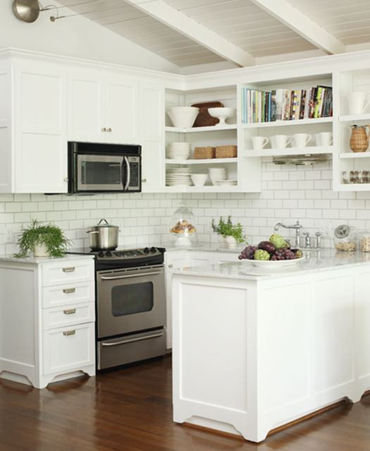 White Tile Kitchen Backsplash  White Subway Tile Backsplash Dream Book Design
