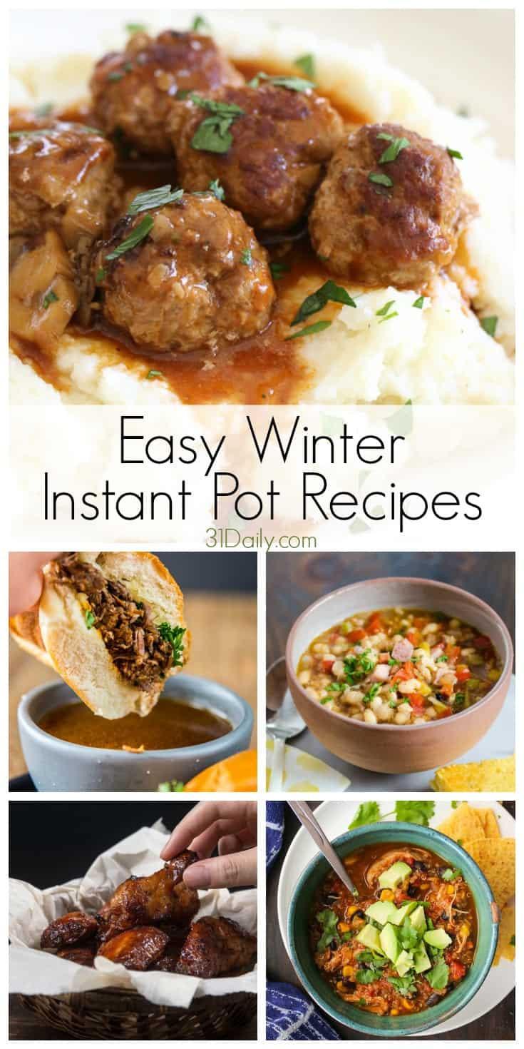 Winter Instant Pot Recipes  21 Best Ideas Winter Instant Pot Recipes Home Family