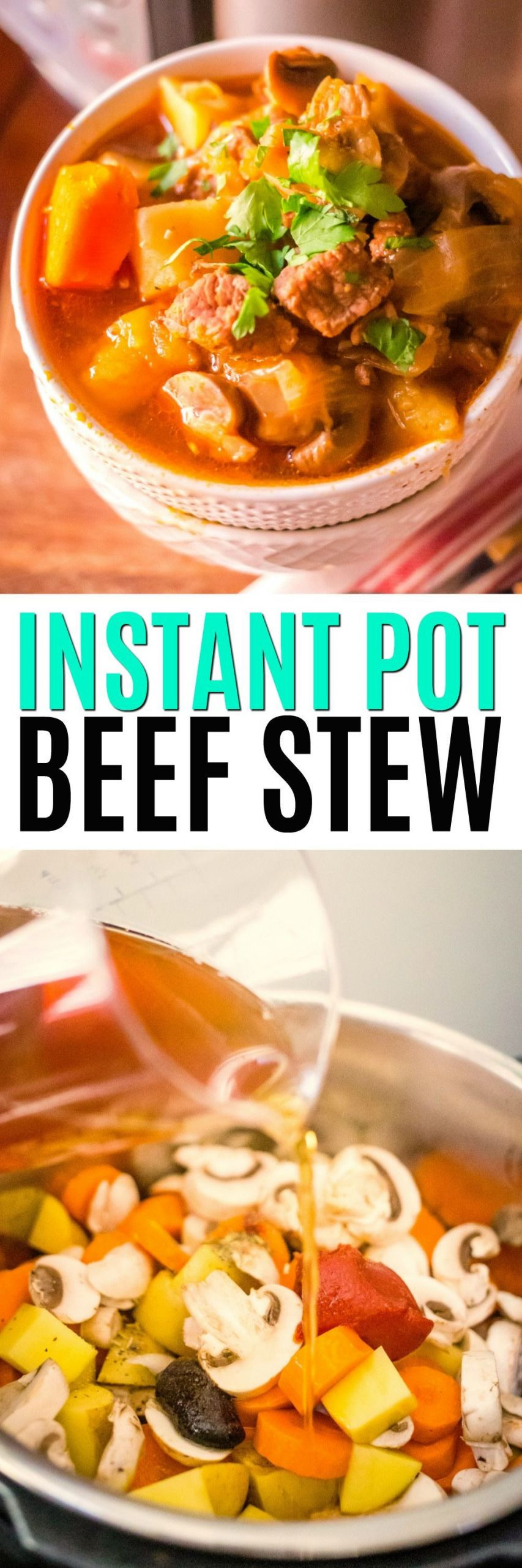 Winter Instant Pot Recipes  Perfect for winter dinners this warm and hearty Instant