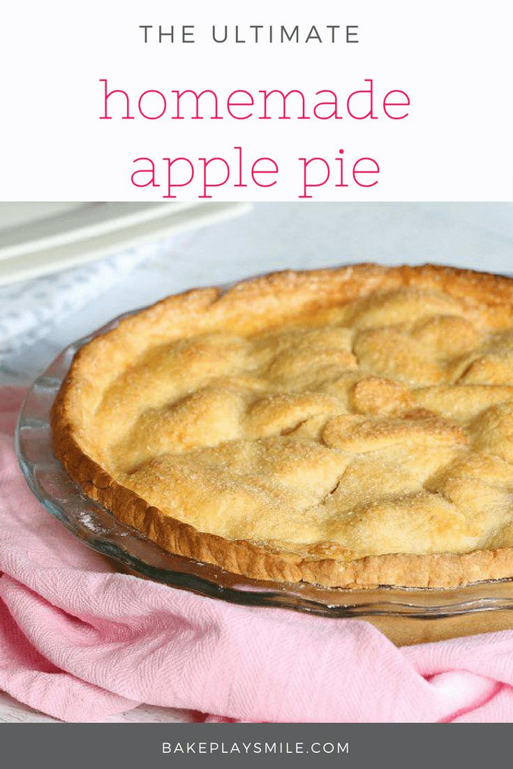 Winter Pie Recipes  Easy Apple Pie winter warmer recipe Bake Play Smile