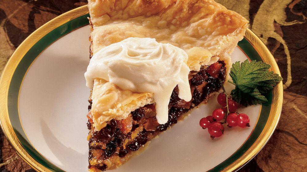 Winter Pie Recipes  Bran d Winter Fruit Pie with Hard Sauce Recipe