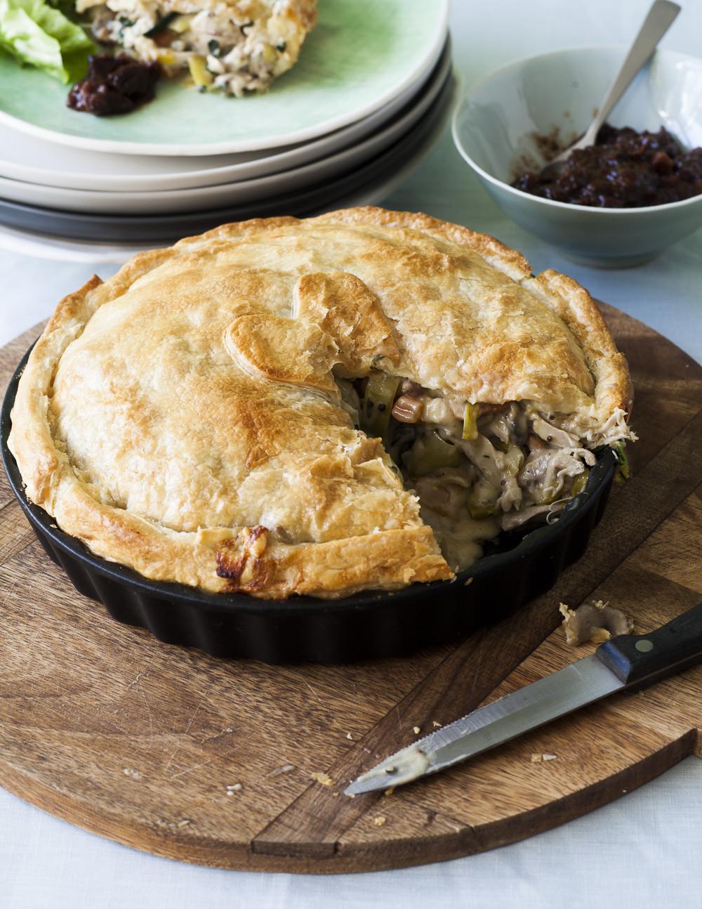 Winter Pie Recipes  ChelseaWinter Creamy chicken pie ChelseaWinter