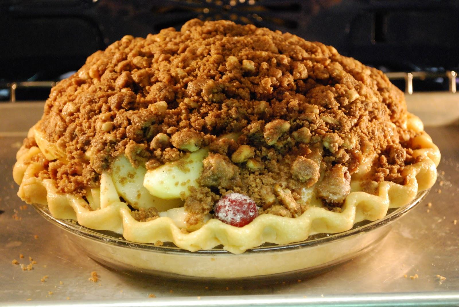 Winter Pie Recipes  Winter Apple And Dried Fruit Pie Recipe — Dishmaps