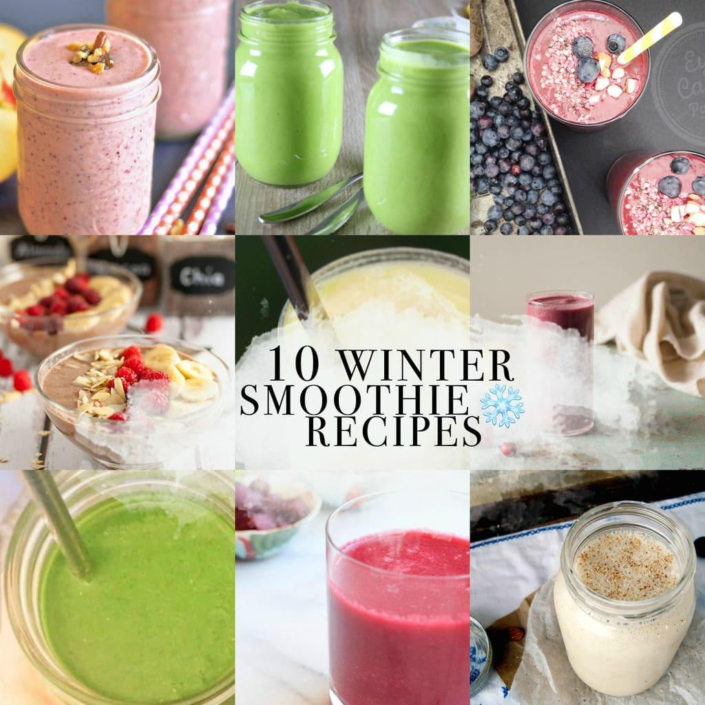 Winter Smoothie Recipes  10 Winter Smoothie Recipes Exploring Healthy Foods