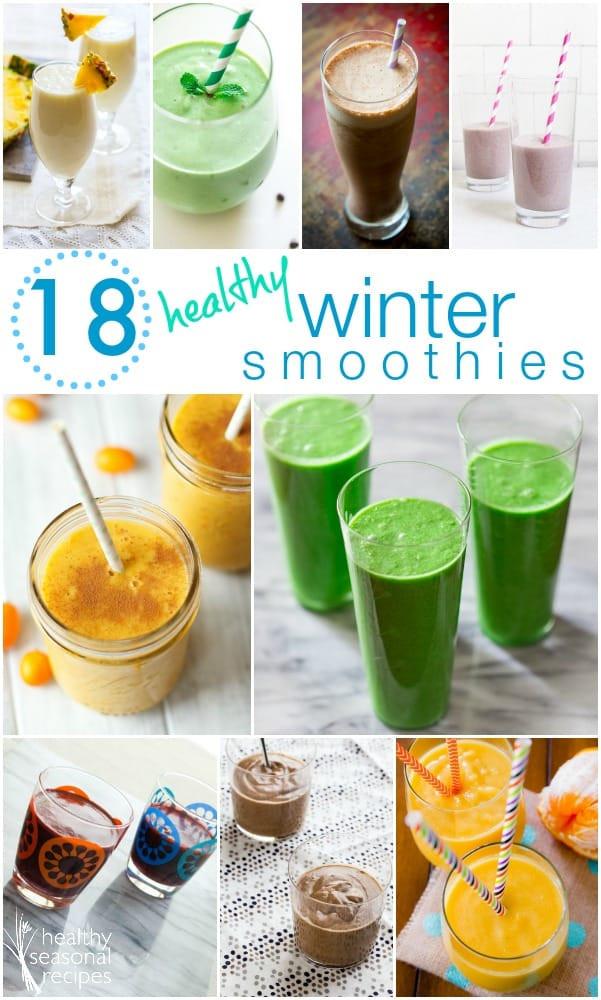 Winter Smoothie Recipes  pear avocado and honey smoothie Healthy Seasonal Recipes