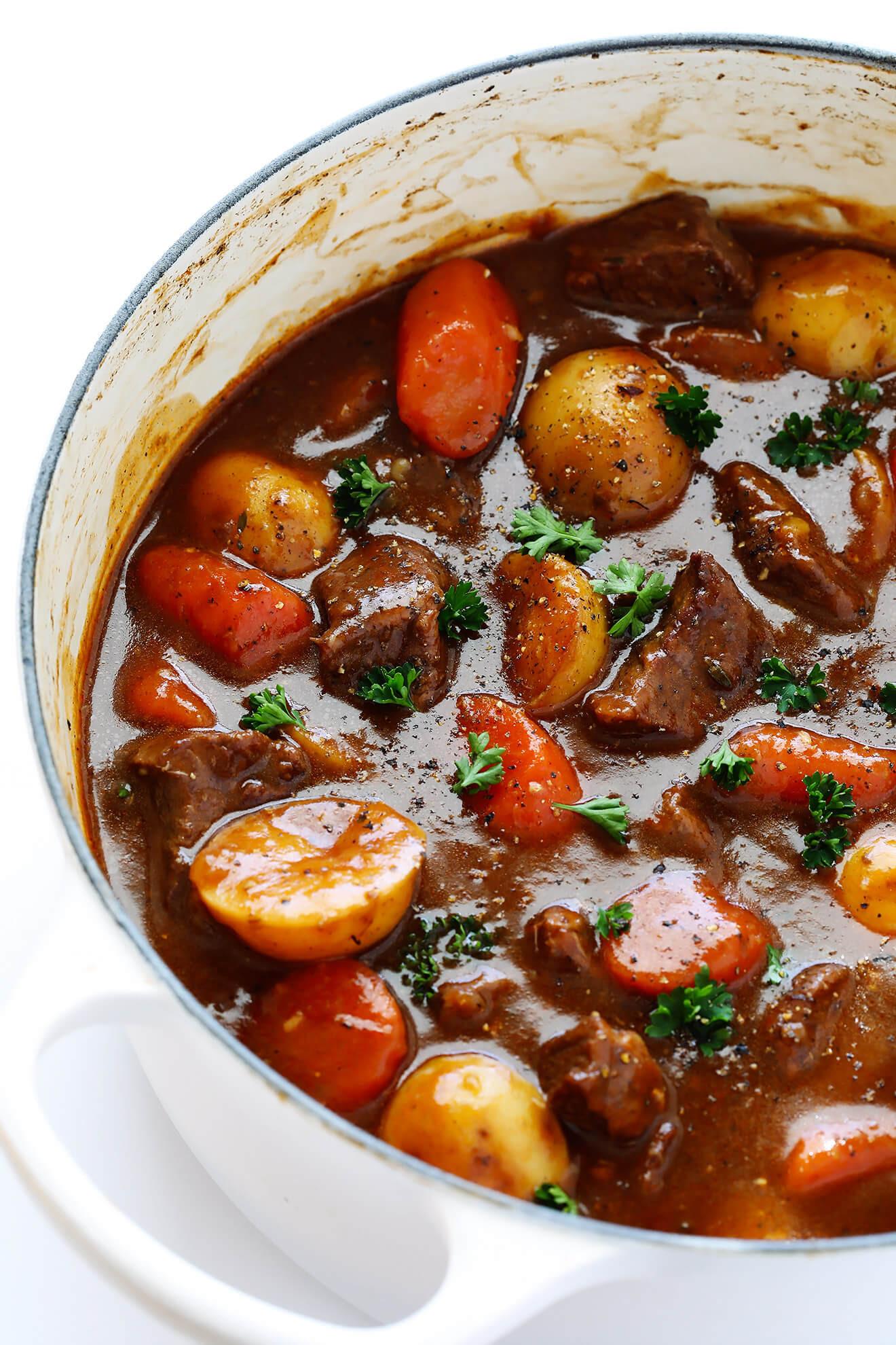 Winter Stew Recipes  Guinness Beef Stew