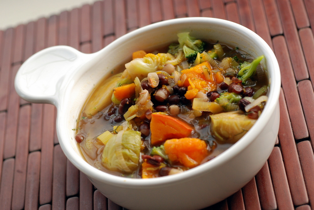 Winter Stew Recipes  Ayurvedic Winter Ve able Stew with Adzuki Beans
