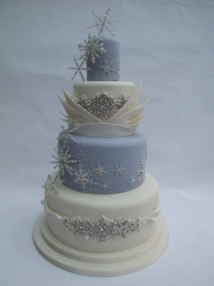Winter Themed Wedding Cakes  Winter cake Wedding Ideas for whoever