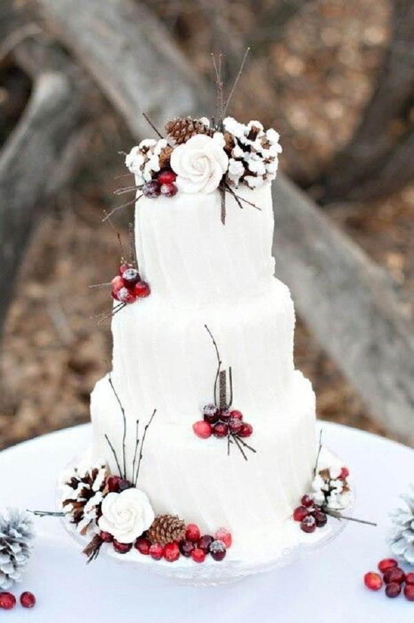 Winter Themed Wedding Cakes  35 Fabulous Winter Wedding Cakes We Love