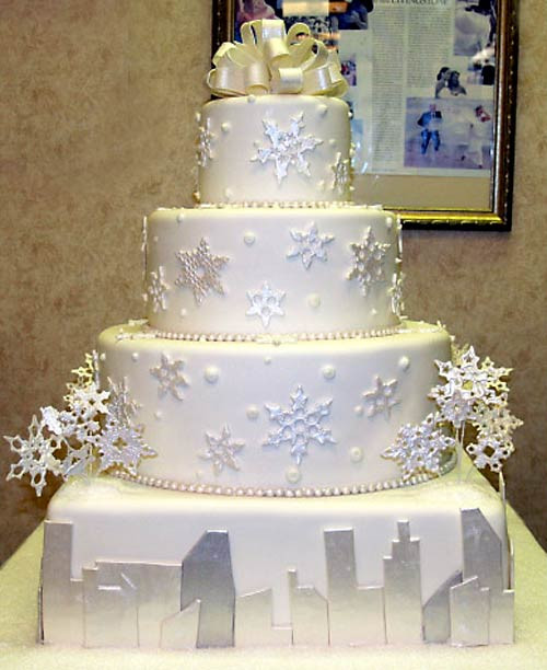 Winter Themed Wedding Cakes  Winter Wedding Ideas for 2012 Elegant and Formal