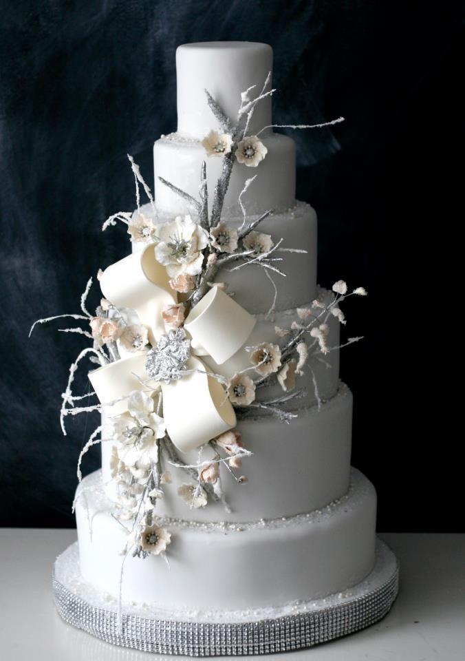 Winter Themed Wedding Cakes  Winter Wedding Cakes We Love
