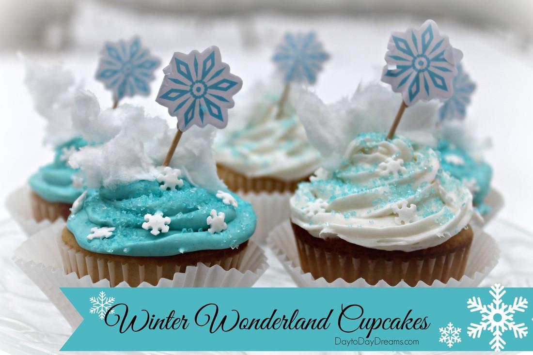Winter Wonderland Cupcakes  Winter Wonderland Cupcakes
