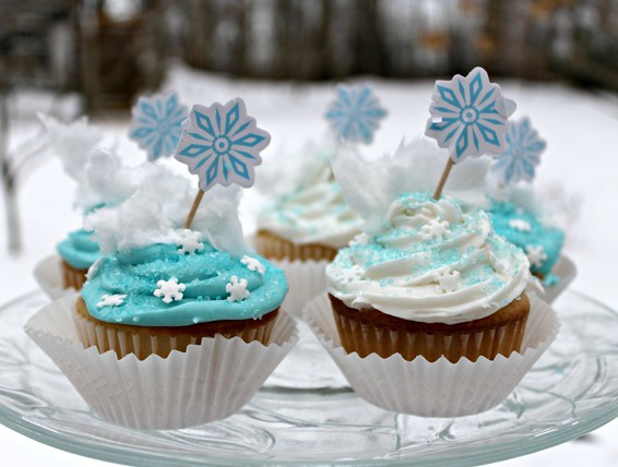 Winter Wonderland Cupcakes  Recipe Winter Wonderland Cupcakes