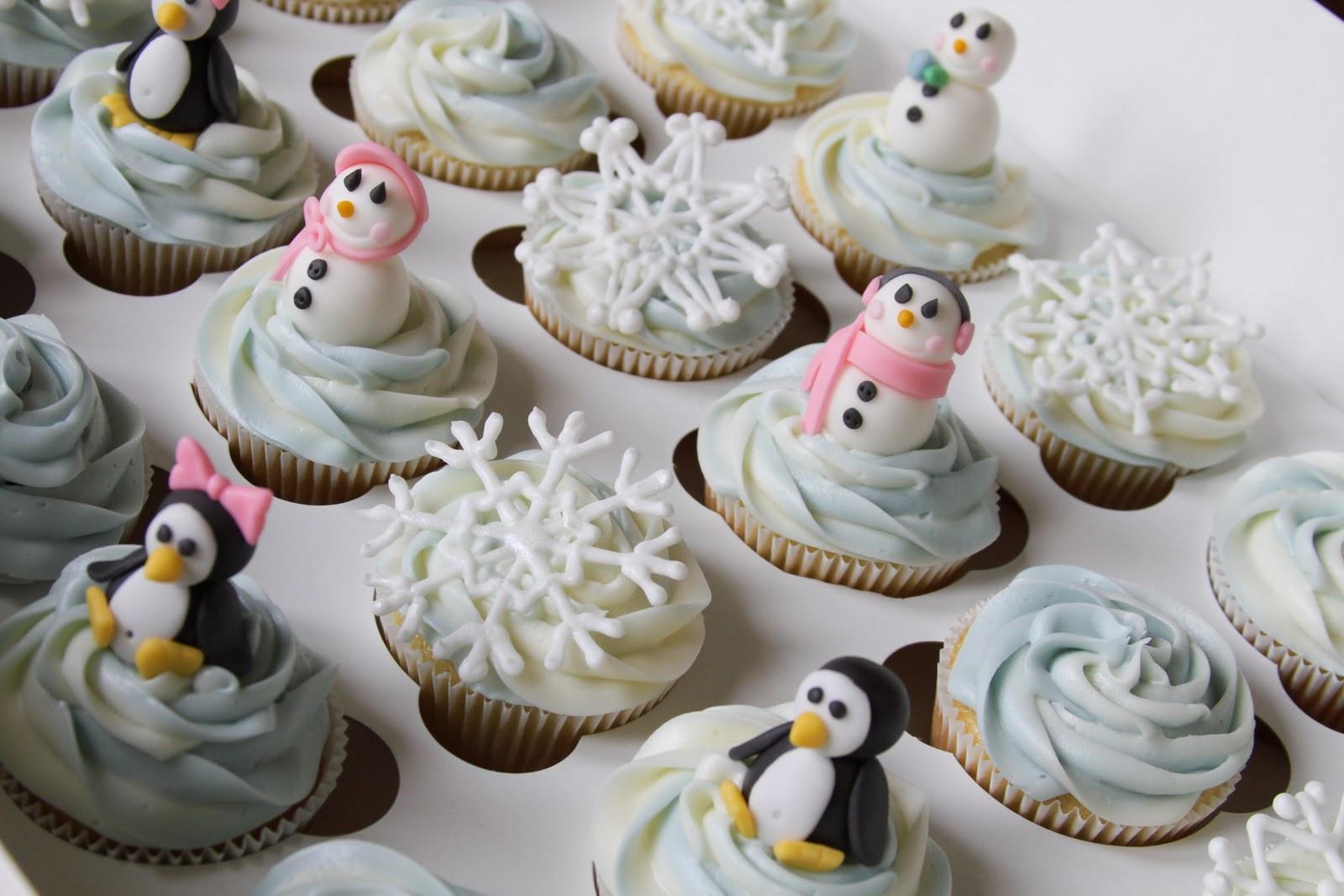 Winter Wonderland Cupcakes  Kaylynn Cakes Cupcakes