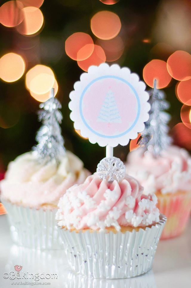 Winter Wonderland Cupcakes  Pretty Little Winter Wonderland Cupcakes and a Pretty