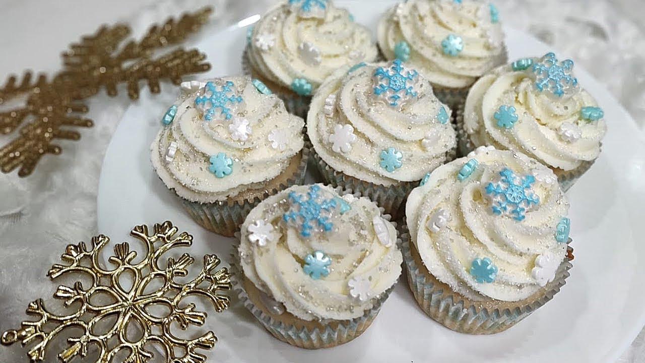 Winter Wonderland Cupcakes  Winter Wonderland Cupcakes ️